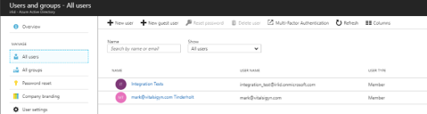 Azure Active Directory B2C Global Administrator can't login